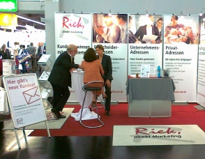 Riek Messestand 2011